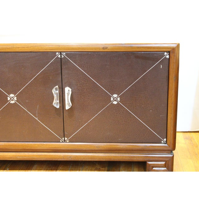 Grosfeld House Art Deco Mahogany Low Cabinets or Nightstands - a Pair For Sale In New York - Image 6 of 13