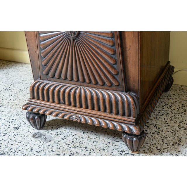 Anglo-Indian Mahogany Server For Sale - Image 9 of 10