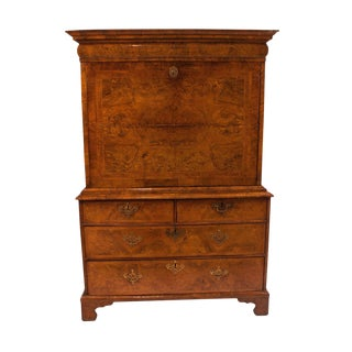 Circa 1710 Queen Anne Walnut Secretary