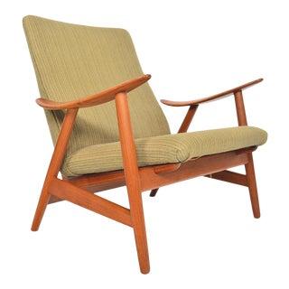 Illum Wikkelsø Model 10 Lounge Chair in Teak For Sale