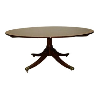 Duncan Phyfe Oval Elliptical Table