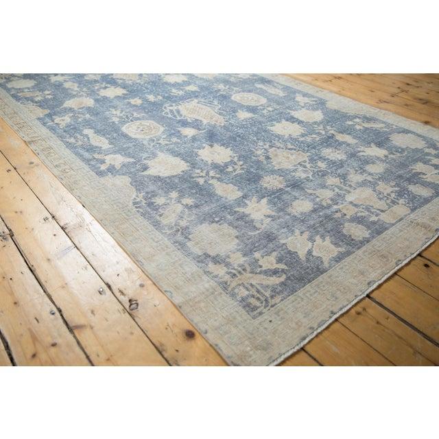 "Textile Vintage Distressed Fragment Sparta Carpet - 5'7"" X 9'1"" For Sale - Image 7 of 11"