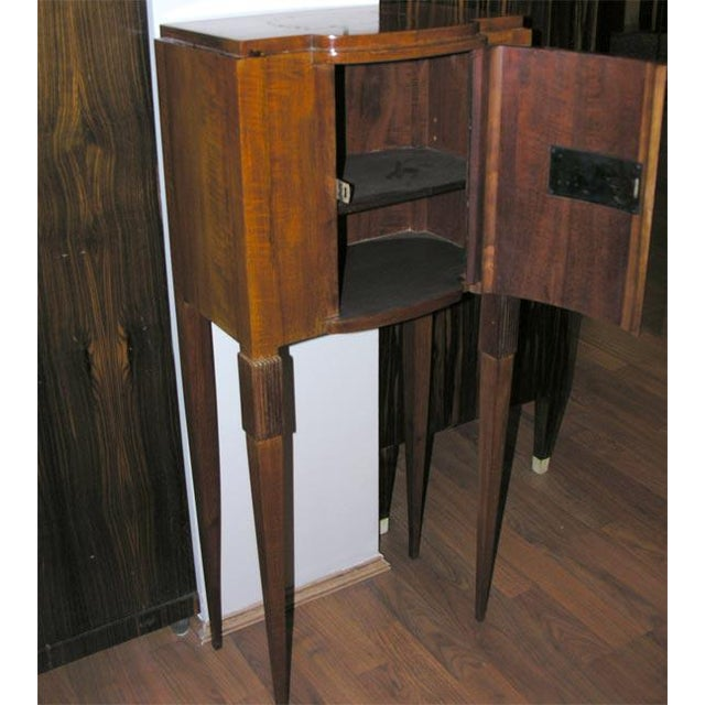 Wood Art Deco Jewelry Cabinet, after Ruhlmann For Sale - Image 7 of 8