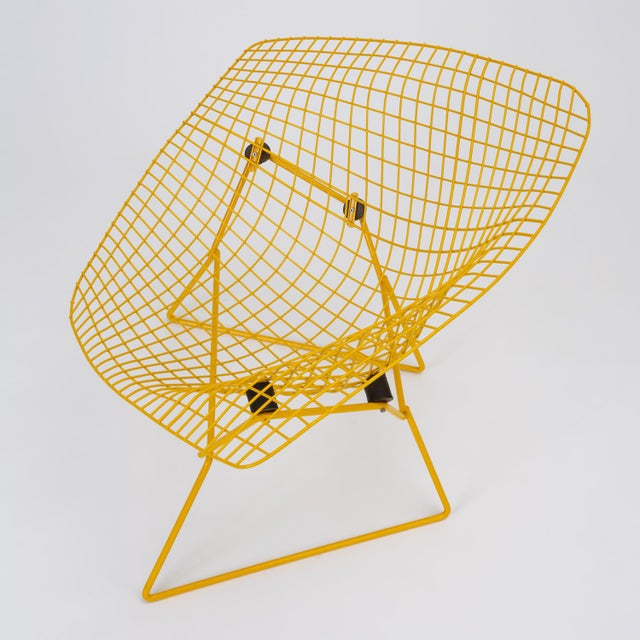 1960s Rocking Diamond Chair by Harry Bertoia For Sale - Image 5 of 12