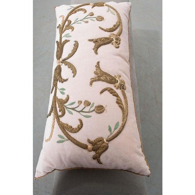 Antique Textile Pillow By B.Viz Designs - Image 6 of 7