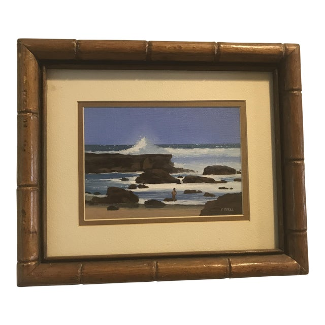 Signed Patrick Doell The North Shore Painting For Sale