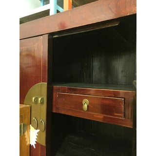 Antique Mahogany Toned Chinese Antique Cabinet Preview