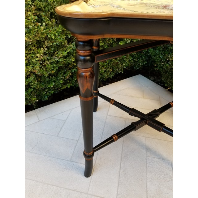 Ceramic Porcelain Tray Table For Sale - Image 7 of 9