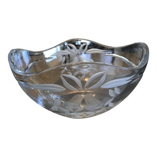 Mikasa Crystal Wedding Bowl For Sale