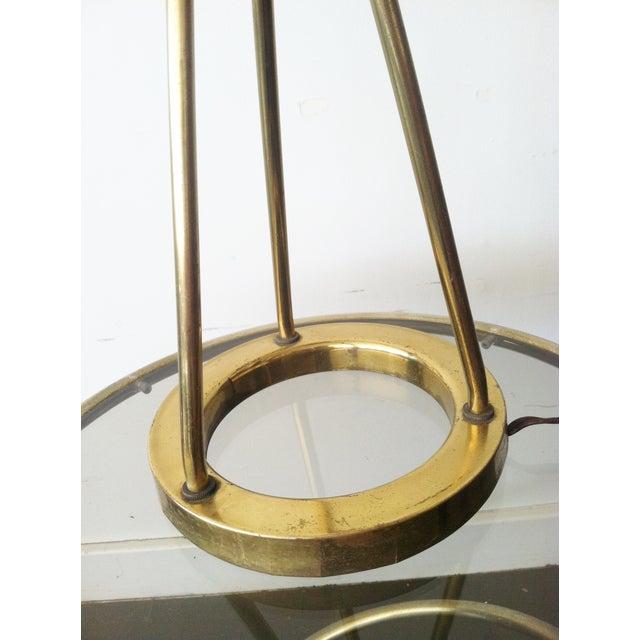 Walter von Nessen Tripod Brass Lamp For Sale - Image 5 of 8