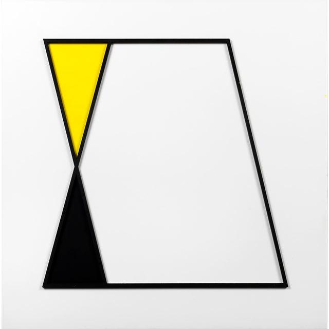 """Abstract Natasha Kohli, """"Parallelogram Study"""" For Sale - Image 3 of 4"""