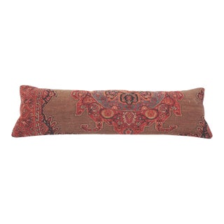 Contemporary Turkish Decorative Rug Pillow Cover For Sale