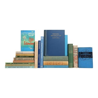 Midcentury Seascapes Book Set, S/20