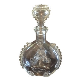 Baccarat Vintage Louis VIII Handblown Decanter With Original Stopper For Sale