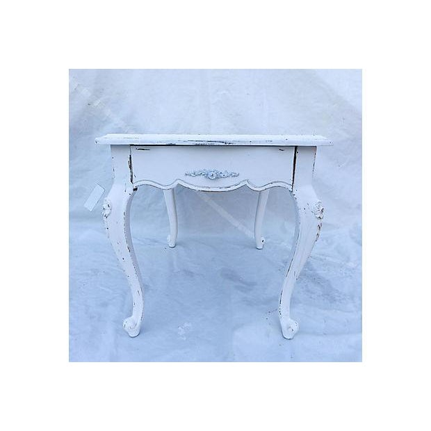 French Cottage Style Side Table - Image 2 of 8