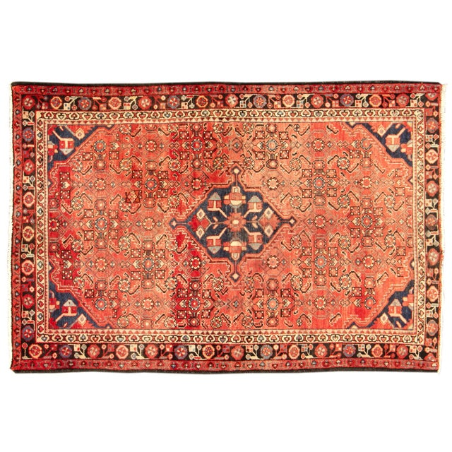 "Apadana Persian Rug - 4'5"" x 6'6"" - Image 1 of 4"