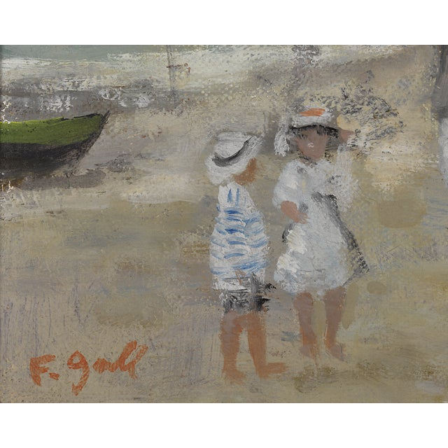 Deauville Seascape By François Gall For Sale - Image 4 of 5