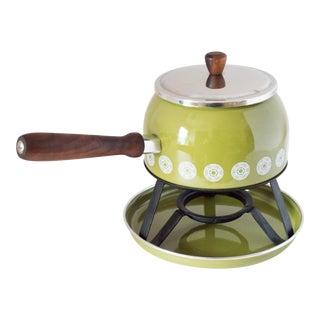 """1960s Rostfrei """"Epicure"""" Fondue Pot For Sale"""