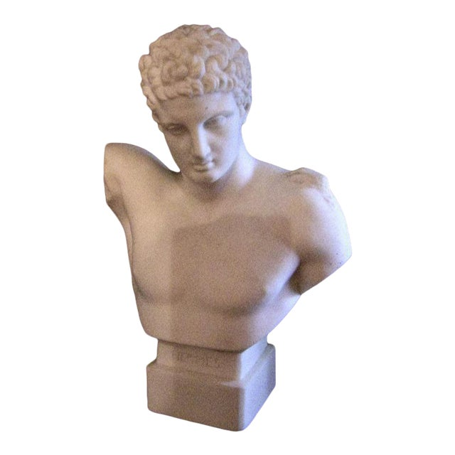 19c Hermes Parian Ware Bust For Sale