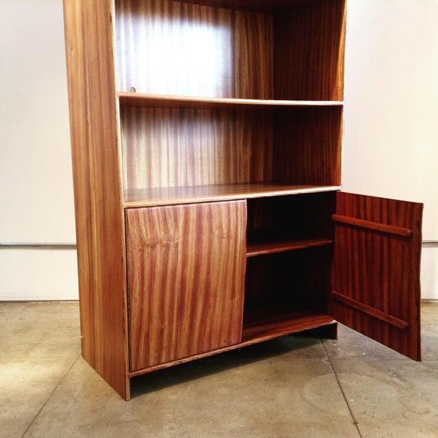 Wood 1970s Vintage Cabinet & Shelves For Sale - Image 7 of 9