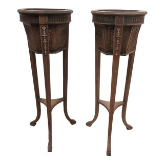1930s Gustavian Style Plant Stands For Sale