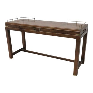 Lane Campaign Style Console For Sale