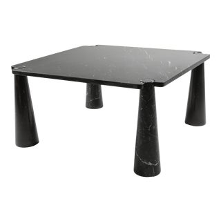 Angelo Mangiarotti 'Eros' Square Marble Dining Table For Sale
