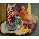 Image of Pauline Khuri Majoli Breakfast Still Life For Sale