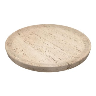 Oversized Travertine Centerpiece Attributed to Fratelli Mannelli For Sale