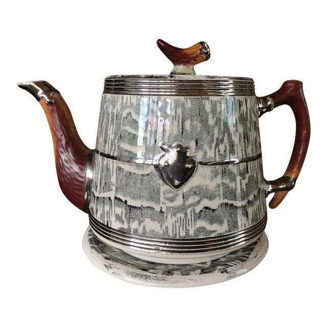 1930s Arthur Wood Silver Shield Teapot - Image 1 of 11