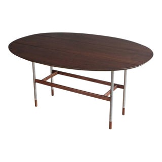 Danish Drop-Leaf Table Attributed to Arne Vodder