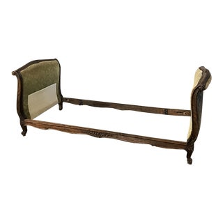 Antique Country French Provincial Daybed Frame For Sale