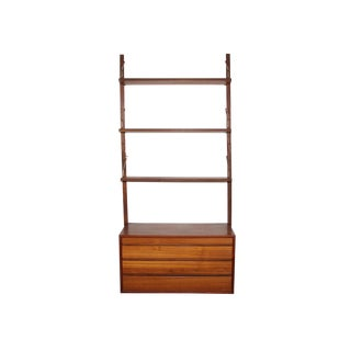 Mid Century Wall Unit by Cadovius For Sale