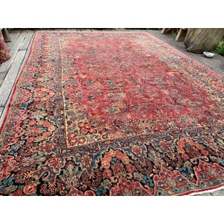"Large Art Deco Persian Sarouk Rug - 10'1"" X 15'2"" Preview"