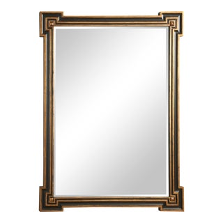 Richards Black & Gold Mirror For Sale