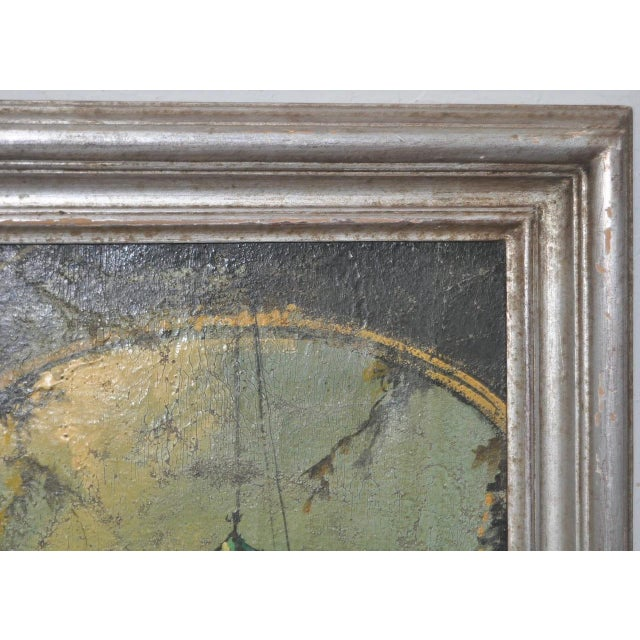 19th Century Italian School Oil Painting For Sale - Image 9 of 10