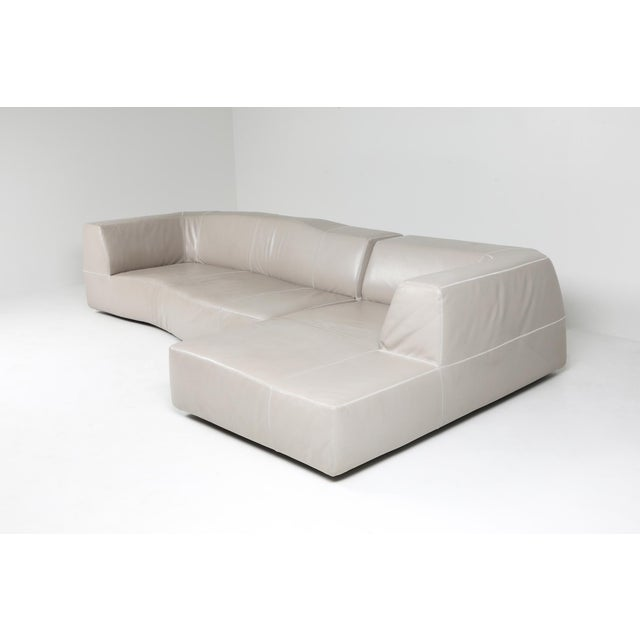 Contemporary B&b Italia Sectional Couch 'Bend' by Patricia Urquiola For Sale - Image 3 of 7