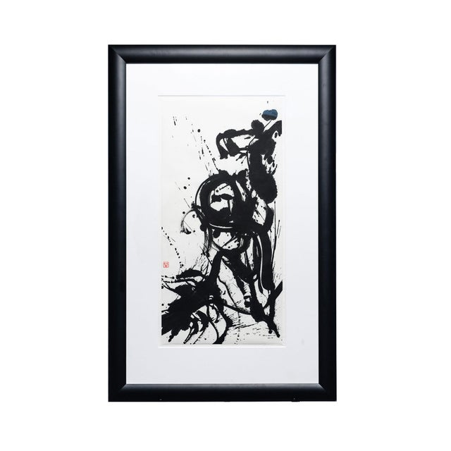 "Ayan Rivera "" Symphony"" Sumi Ink Original For Sale In Seattle - Image 6 of 6"