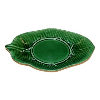 19th Century Wedgwood Majolica Dish For Sale