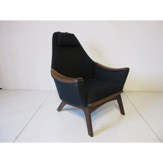 1950s 1960s Adrian Pearsall Upholstered Lounge Chair For Sale - Image 5 of 10