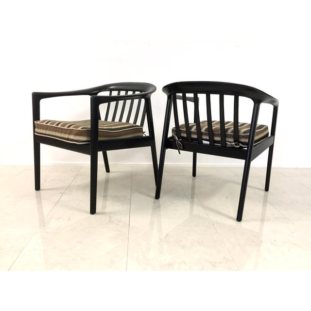 Dux Folke Ohlson Danish Modern Chairs - A Pair For Sale In Milwaukee - Image 6 of 7