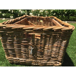 Antique French Champagne Grape Basket Preview
