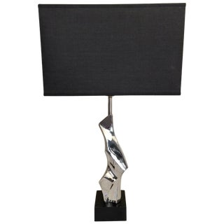 Mid-Century Modern Brutalist Light by Laurel Lamp, Style of Maurizio Tempestini For Sale