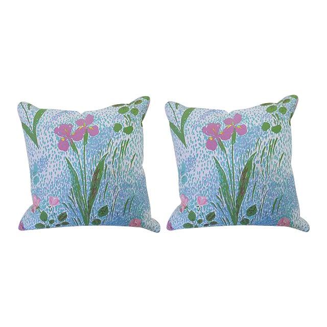 Pair of Paule Marrot Brunschwig Fils Custom Pillows For Sale
