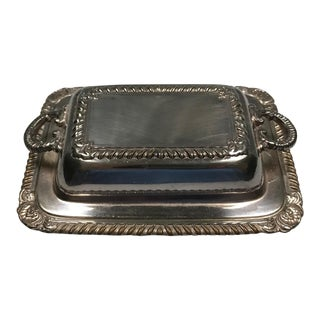 Miniature Covered Butter Dish For Sale