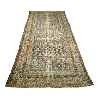 Late 1800s Persian Malayer Tribal Rug For Sale