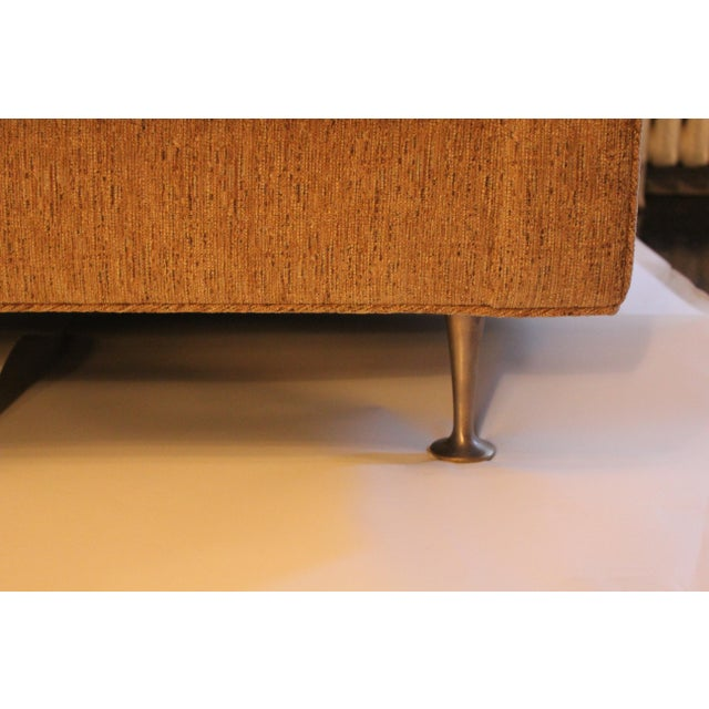 Early 21st Century Contemporary Mid-Century Modern Style Sofa For Sale - Image 5 of 7