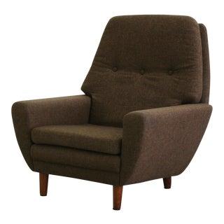 Danish Mid-Century Modern Armchair by Georg Thams For Sale