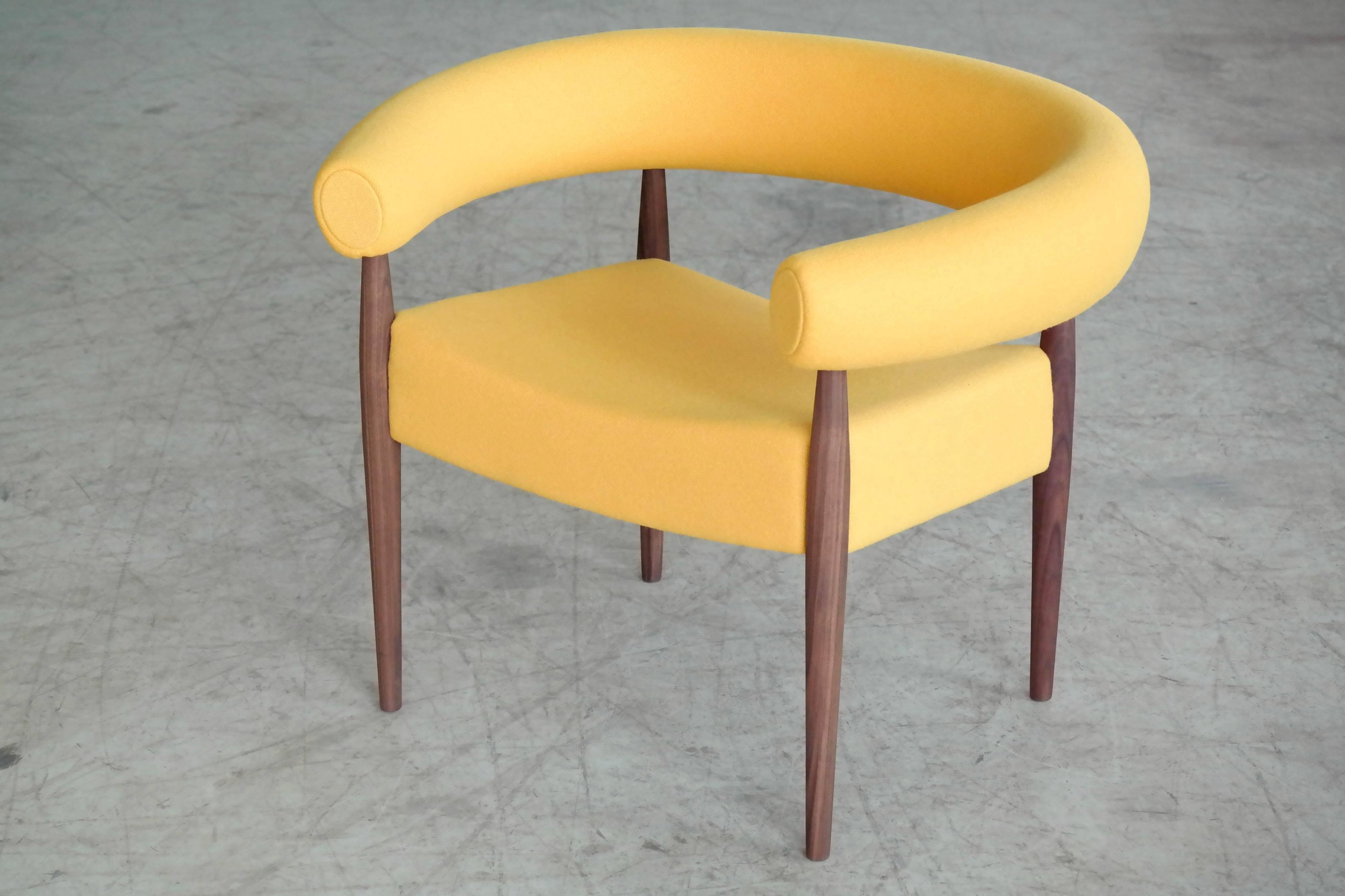 Nanna Ditzel Nanna Ditzel Pair Of Ring Chairs For Getama For Sale   Image 4  Of