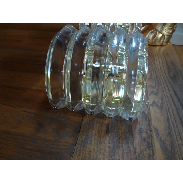 Brass & Lucite Sconces - A Pair - Image 3 of 5